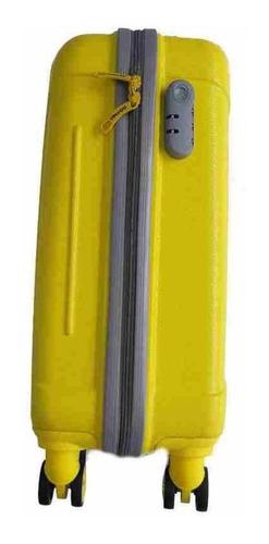 mala de bordo abs 360 up4you amarela padrão bilbão luxcel