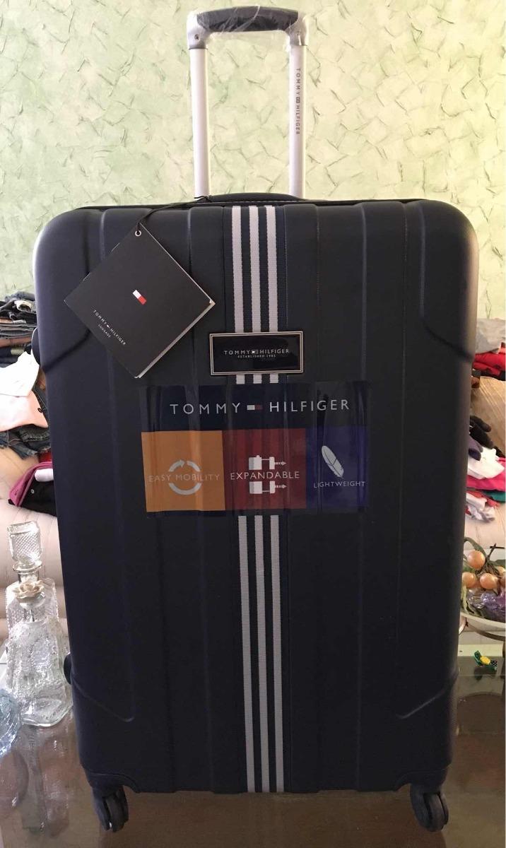 b318fd33744 mala de viagem grande tommy hilfiger tsa zipper extensor. Carregando zoom.