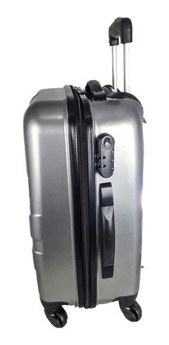 mala de viagem media barata policarbonato expansiva 360º