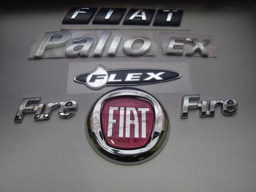 mala + grade vermelho+ palio+ ex + 2 fire + flex 05/08 - bre