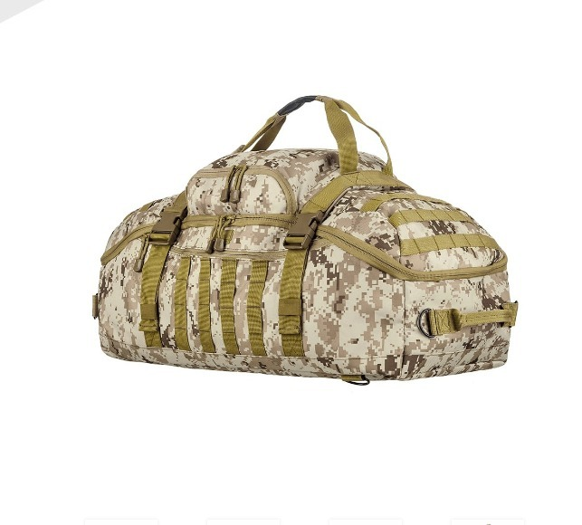 Mala Invictus Expedition - Camuflado Deserto Digital - R  389 24e0c52d2e7