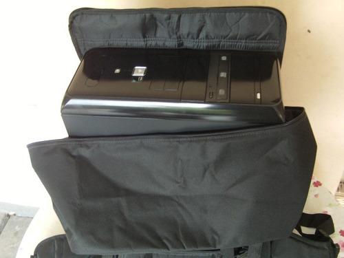 mala maleta bolsa mochila p/transportar cpu computador gamer