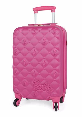 mala mochila barbie media rosa infantil feminina muito linda