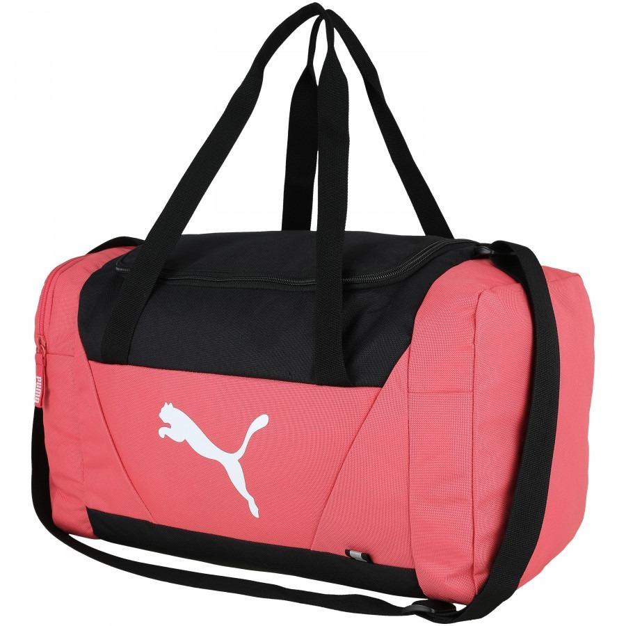 519b5d280695 mala puma fundamentals sports bag m - paradise pink. Carregando zoom.