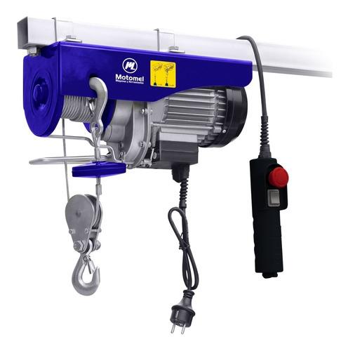 malacate aparejo eléctrico guinche motomel 500kg / mae200