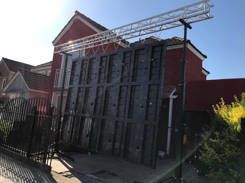 malacate torre elevadora (copia fenix) 300kg 5,5mt altura