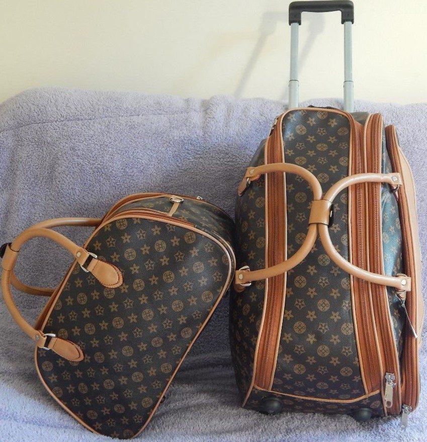 Bolsa De Mao Para Viagem Feminina : Kit conjunto malas feminina viagem c rodinhas e bolsa