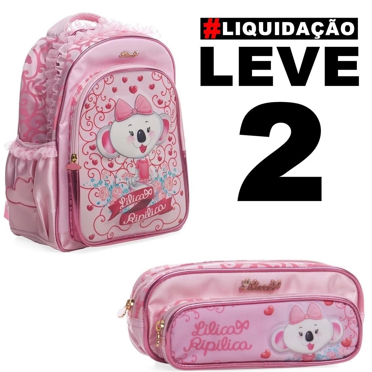Malas   Bolsas   Mochilas   Sacolas Infantil Lilica Ripilica - R ... 11d1b8522a