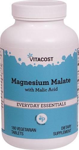 malato de magnésio vitacost -180comp vegetariano