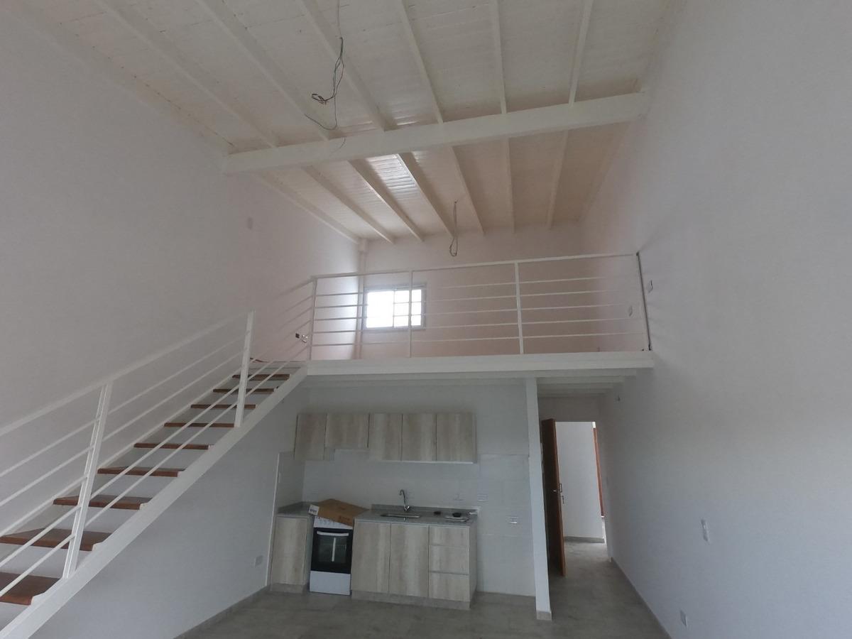 malaver a estrenar 2 amb frente, en loft c/entre piso 53 m2