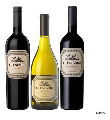 malbec, chardonnay y cab. franc