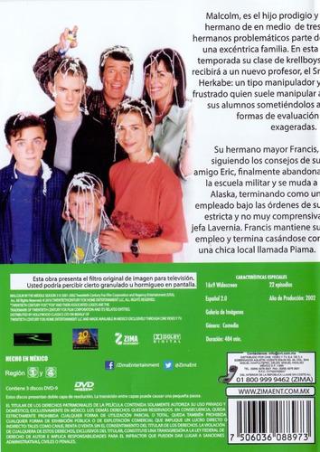 malcolm el de enmedio tercera temporada 3 tres dvd