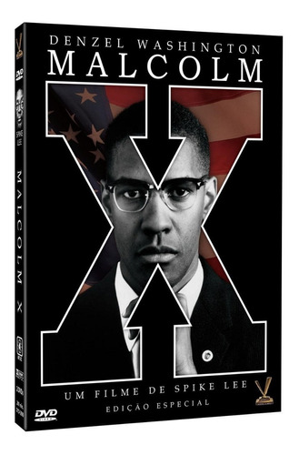 malcolm x - dvd duplo - denzel washington - spike lee - novo
