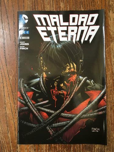 maldad eterna, dc comics, revista