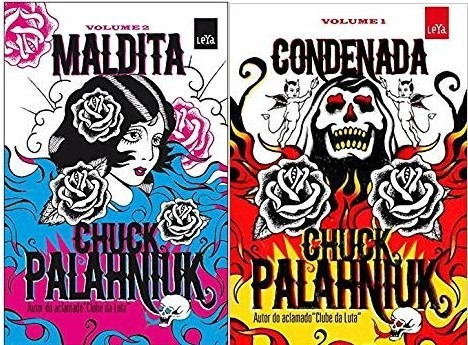 maldita livro chuck + condenada palahniuk saga infernal