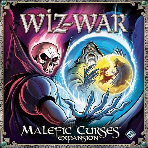 malefic curses - expansão jogo tabuleiro imp. wiz-war - ffg