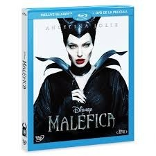 Malefica Disney Maleficent Angelina Jolie Blu Ray Dvd Nuevo