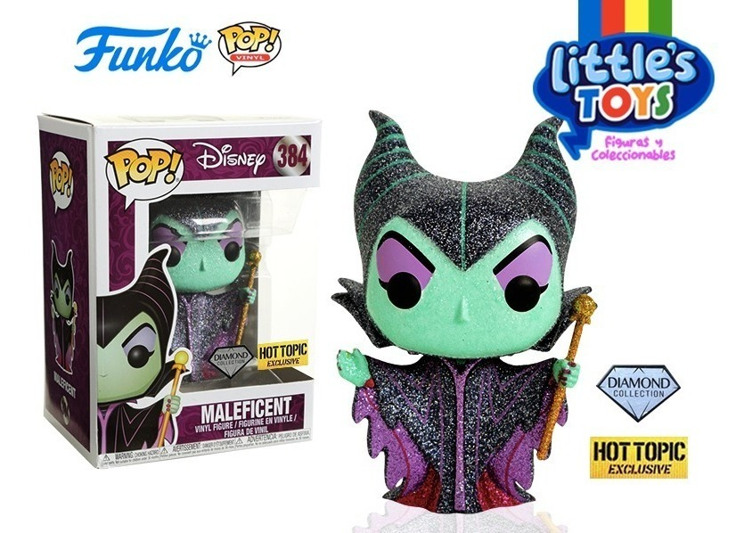 Maleficent Funko Pop Disney Hot Topic Diamond Malefica