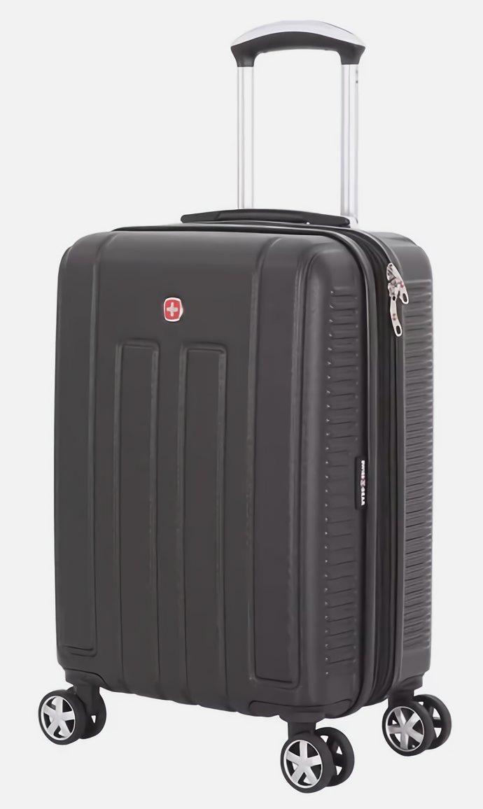 901b55a69 Maleta 20 Swiss Gear Spinner Black 6399202154 - S/ 349,00 en Mercado ...