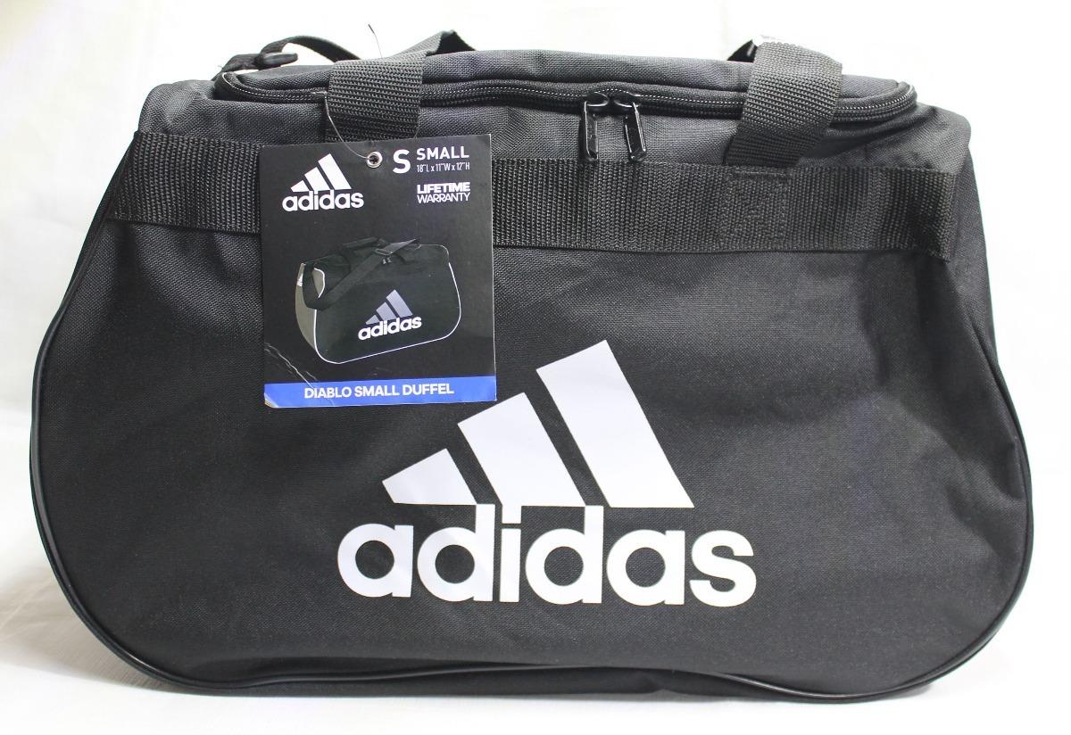 al por mayor atractivo y duradero estilos clásicos Maleta adidas Diablo Negro Blanco Small Duffel Gym Crossfit