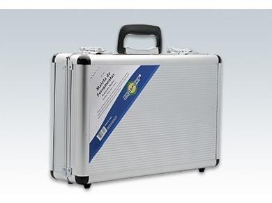 maleta alumínio prata ferramentas 425x280x120mm