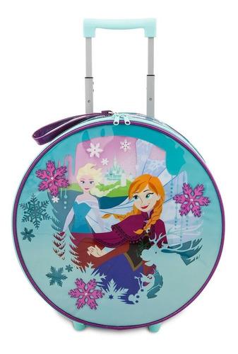 maleta anna y elsa frozen, maleta escolar con ruedas disney