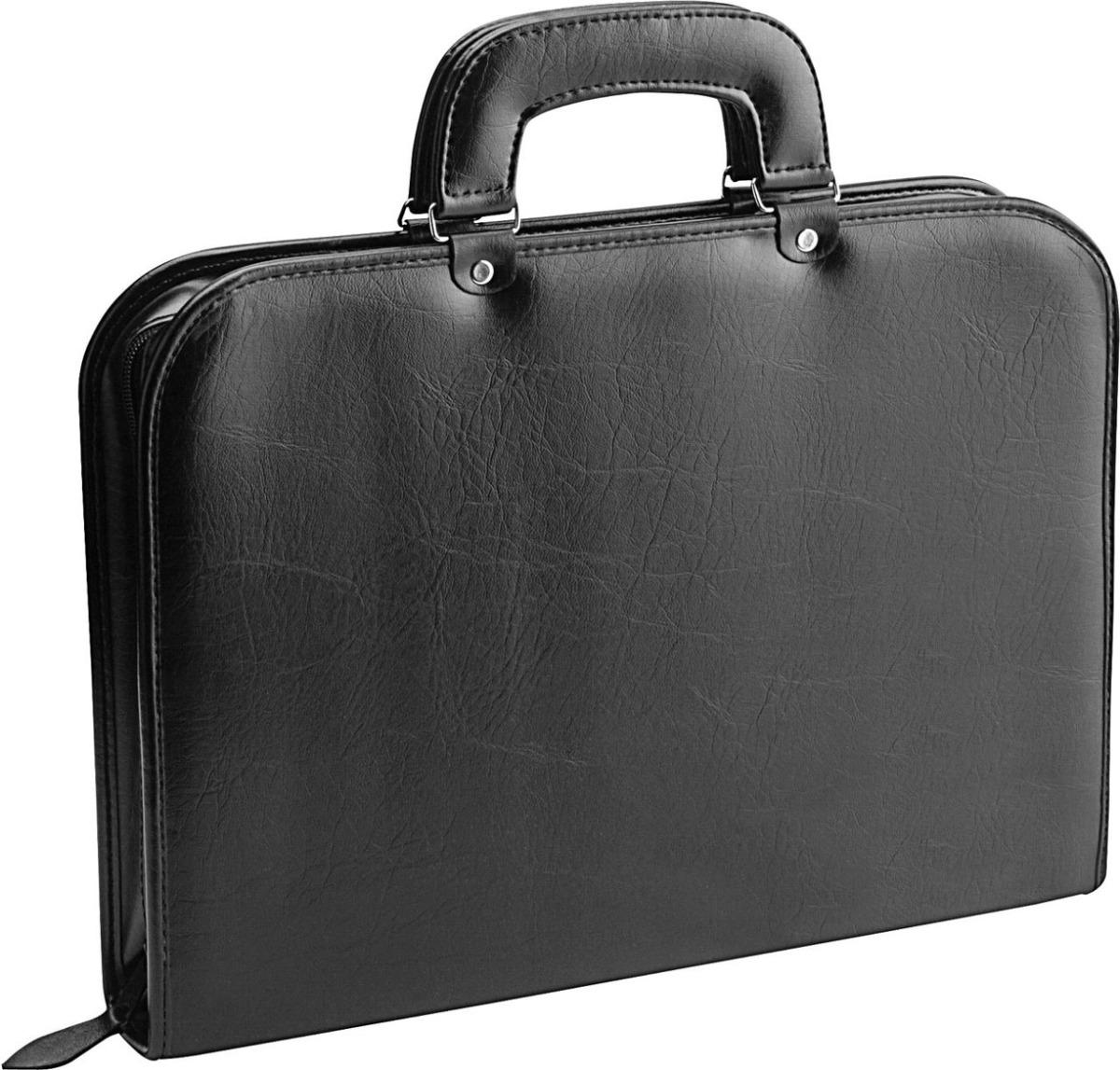 6c1568788d7 maleta bolsa pasta executiva em couro 1561- incorpast preto. Carregando  zoom.