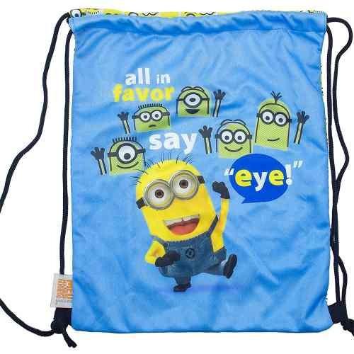 maleta + bolsinha all in favor say eye - minions | meu malva