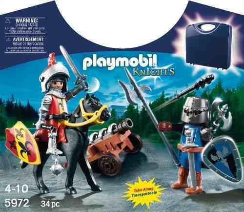 maleta caballeros playmobil r3906