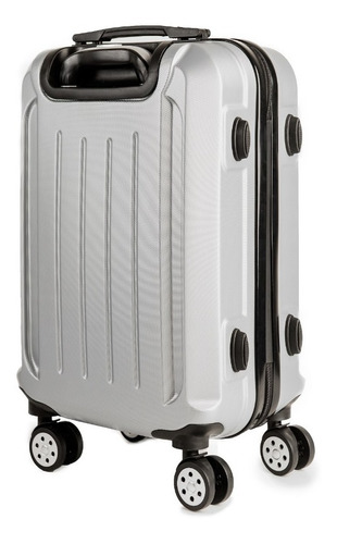 maleta cabina avion de mano despacho gratis carry on gris