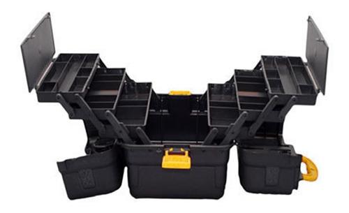 maleta caixa ferramentas completa grande 6 bandejas hi