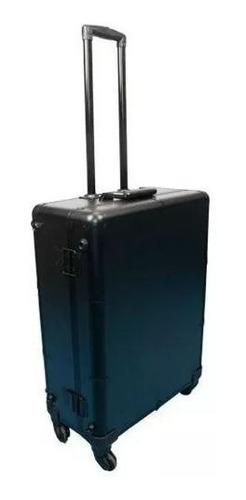maleta camarim para maquiagem profissional preta
