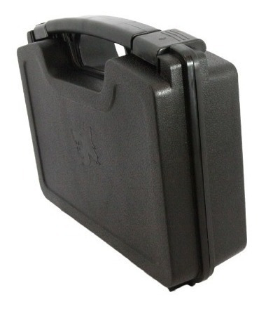 maleta capa case ntk rígida p/ airsoft-pistolas-revólver