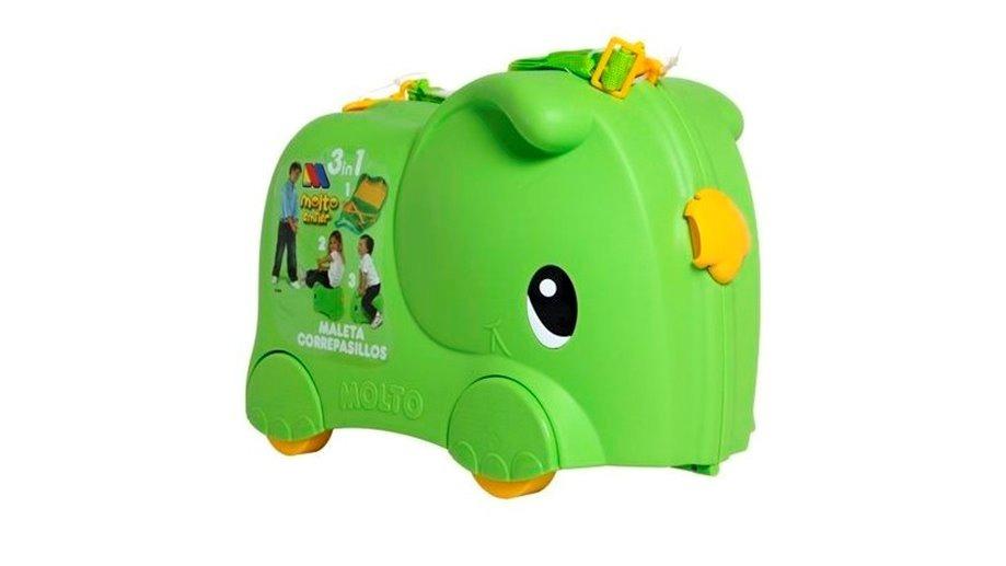 d49dbc7fc Maleta Carrito Infantil Montable Molto Elefante Verde - $ 899.00 en ...