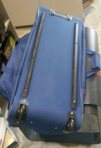 maleta con ruedas para viaje de lona de los grandes 90x36x30