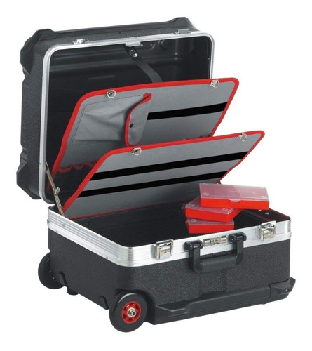 maleta contenedor con ruedas para electromecánica bv.61