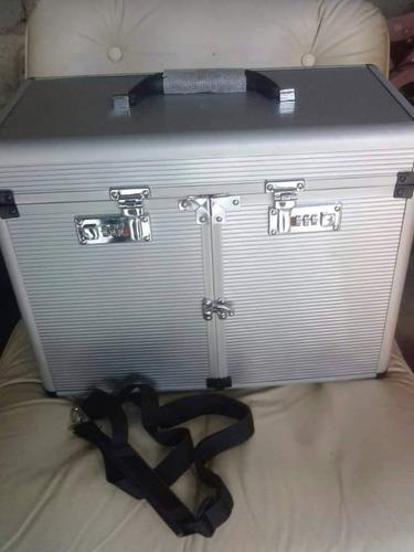 maleta de aluminio para maquillaje
