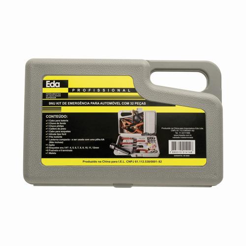 maleta de ferramentas emergência p veículos original eda 9nu