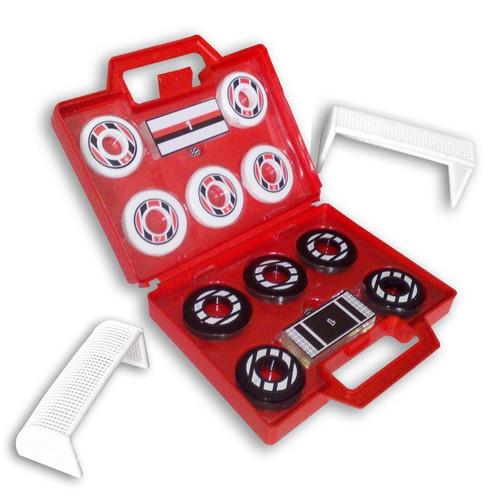 maleta de futebol de botão