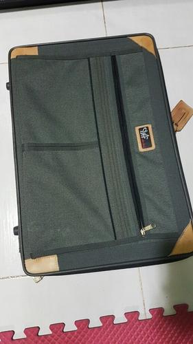 maleta de lona para equipaje