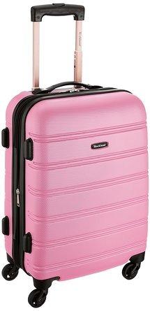 maleta de mano rockland  rosado