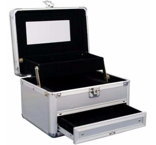 maleta de maquiagem completa profissional ruby rose avon mak