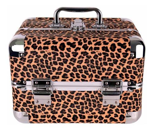 maleta de maquiagem profissional 4 bandejas original