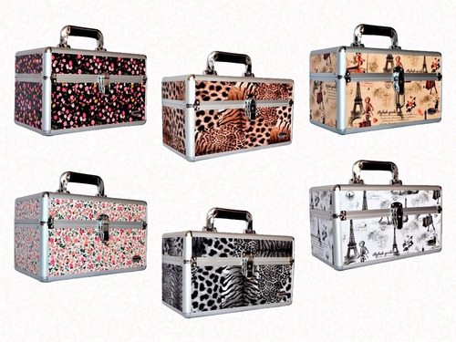 maleta de maquiagem profissional grande varias cores modelos