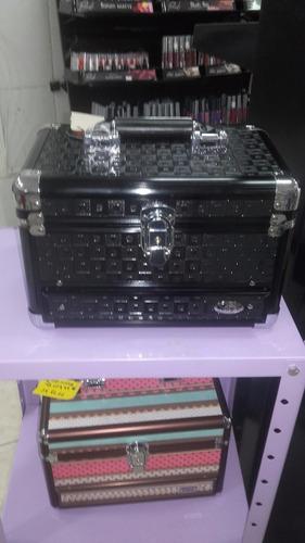 maleta de maquiagem ruby's fs-dc1154 preta