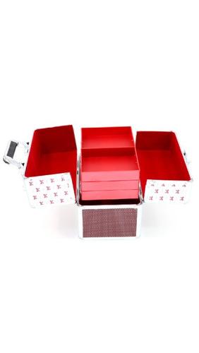 maleta de maquiagem rubys importada