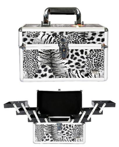 maleta de maquiagem ruby´s - profissional e paleta de sombra