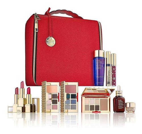 maleta de maquillaje profesional estee lauder + envío gratis