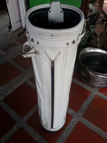 maleta de palos de golf en cuero u.s.a. marca ping