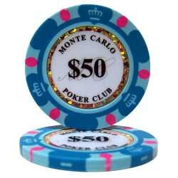 maleta de poker 300 fichas monte carlo 14 gm clay 10 cores